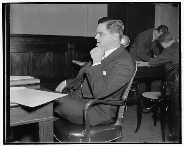 Walter Goodspeed of Grand Rapids, Mich. Before profit sharing conf.