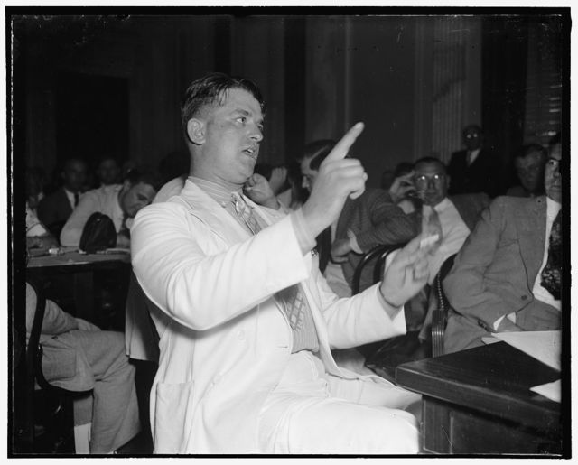Walter P. Keellner, city policeman of Canton appearing before Committee [...]the LaFollette Civil Liberties