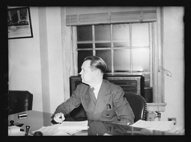 Washington, D.C. C.B. Baldwin, assistant administrator, FSA (Farm Security Administration)
