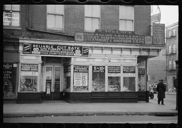 [A. Pollack's novelty store, 628 East Baltimore Street, Baltimore, Maryland]