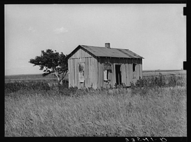 Abandoned farmhouse. Wagoner County, Oklahoma