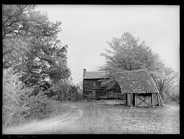 Abandoned home. Greene County, Georgia