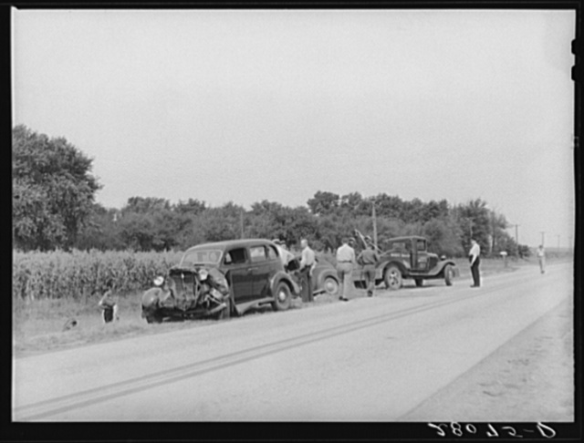 Accident on U.S. Highway 65 near Iowa Falls, Iowa