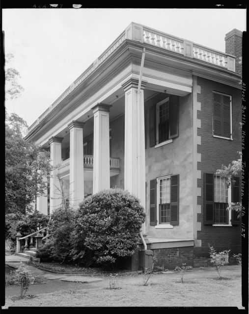 Alfred Battle House, University Ave., Tuscaloosa, Tuscaloosa County, Alabama