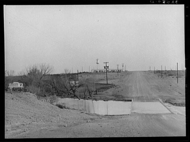 Approach to El Indio, Texas