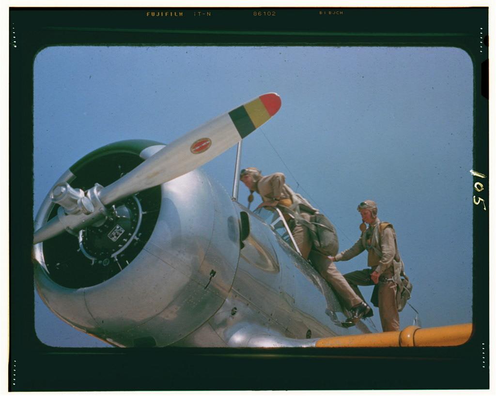 Aviation cadets at the Naval Air Base, Corpus Christi, Texas