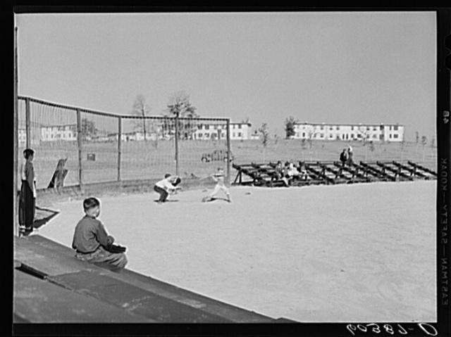 Baseball game. Greenhills, Ohio