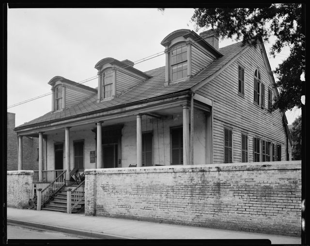 Bishop Portier House, 307 Conti St., Mobile, Mobile County, Alabama