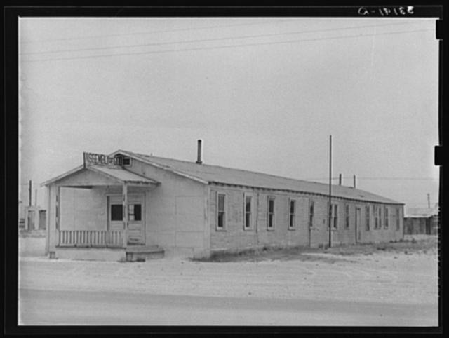 Church. Crane, Texas