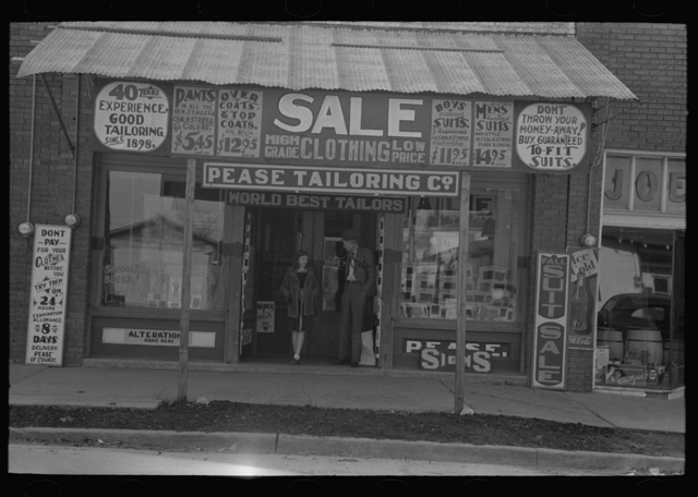 Clothing store, Merigold, Mississippi