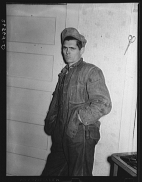 Coal miner, unemployed because of mechanization of mines. Bush, Illinois