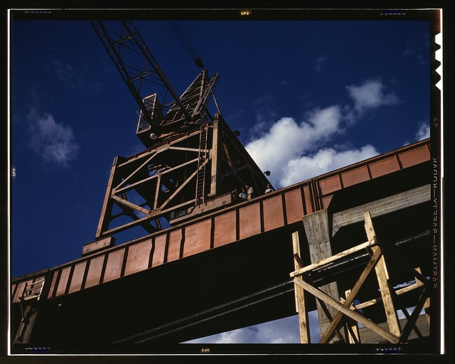 Construction at Douglas Dam (TVA), Tenn.