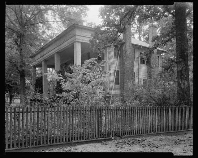 Country House, Hill Plantation?, Washington vic., Wilkes County, Georgia