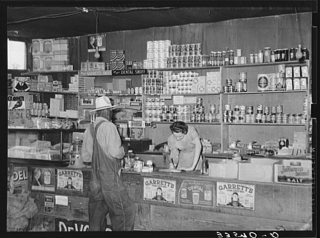 Country store. Wagoner County, Oklahoma