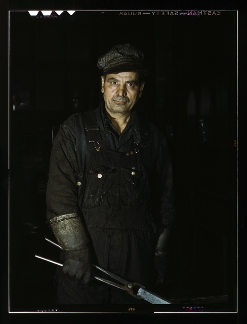 Daniel Anastazia, blacksmith's helper, Rock Island R.R., Blue Island, Ill.