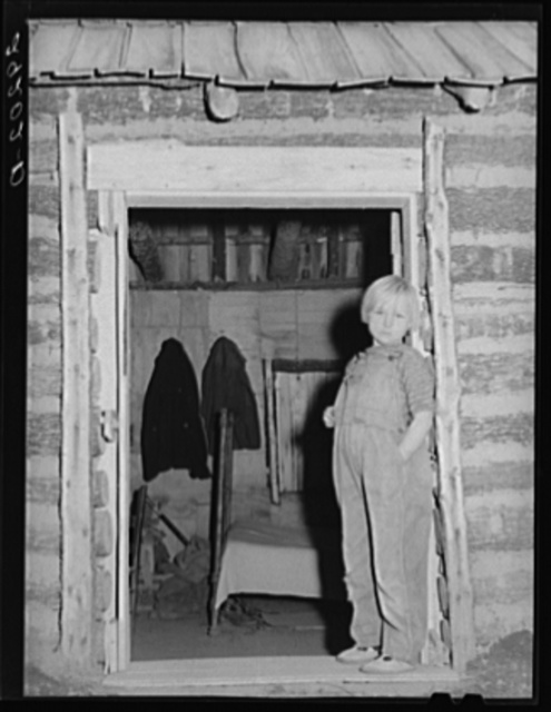 Daughter of evicted sharecropper. Butler County, Missouri