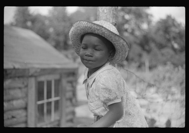 Daughter of Pauline Clyburn, rehabilitation borrower. Manning, Clarendon County, South Carolina