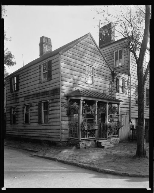 Davenport Tenement, Small Dwelling, Houston and State Sts, Savannah, Chatham County, Georgia