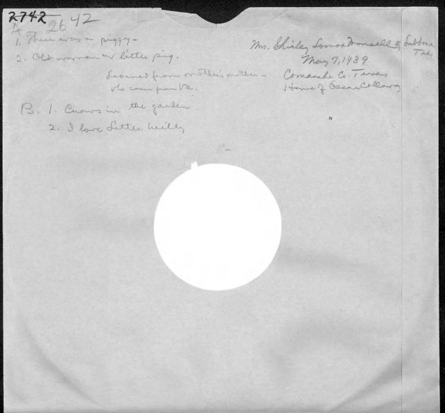 Disc sleeve for AFS Disc #2642