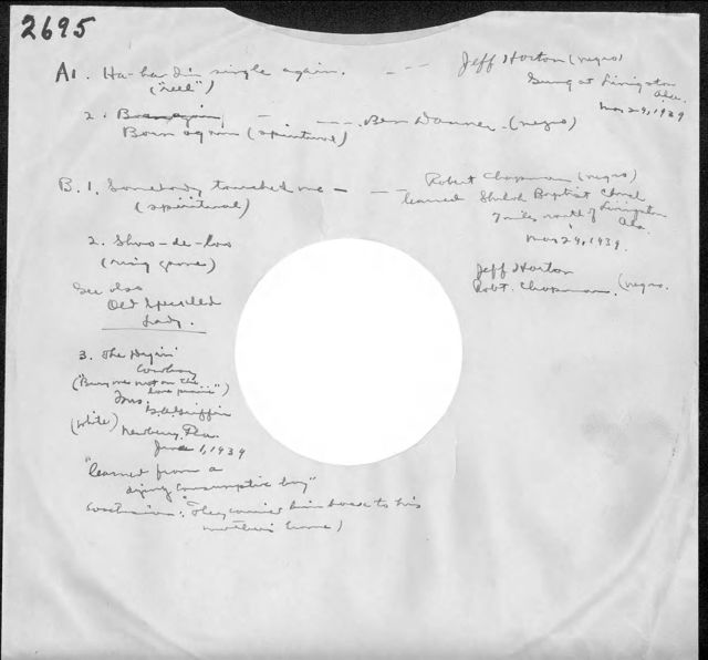 Disc sleeve for AFS Disc #2695