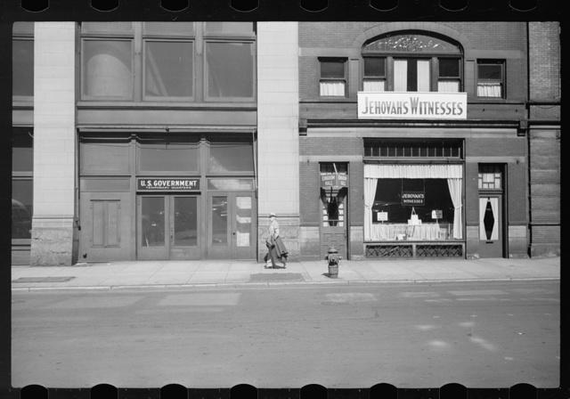 Downtown street, Cincinnatti, Ohio