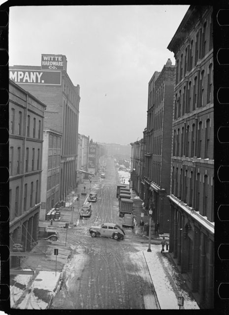 Downtown street, Saint Louis, Missouri