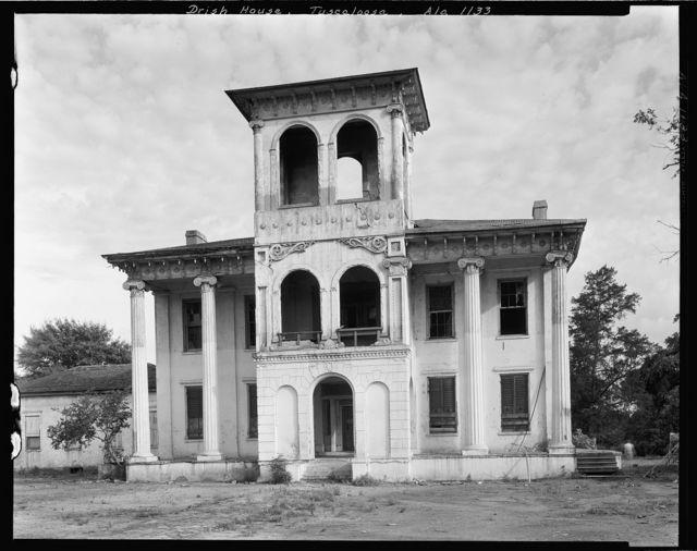 Drish House, 23rd Ave. & 18th, Tuscaloosa, Tuscaloosa County, Alabama
