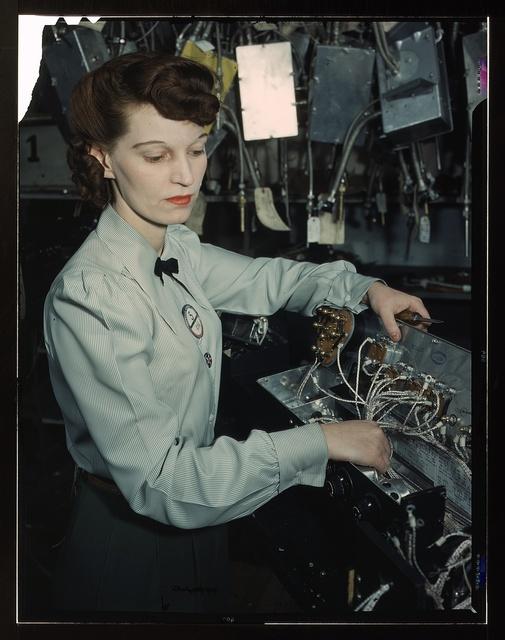 Electronics technician, Goodyear Aircraft Corp., Akron, Ohio