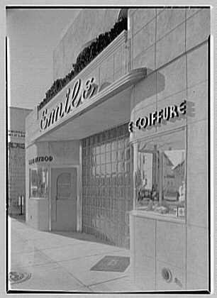 Emile's Beauty Shop, 82 N. Village Ave., Rockville Centre, Long Island. Beauty shop from right II