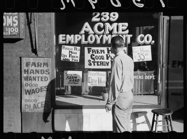 Employment agency in Gateway District, Minneapolis, Minnesota