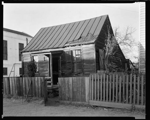 Fahn Street, West side, Savannah, Chatham County, Georgia