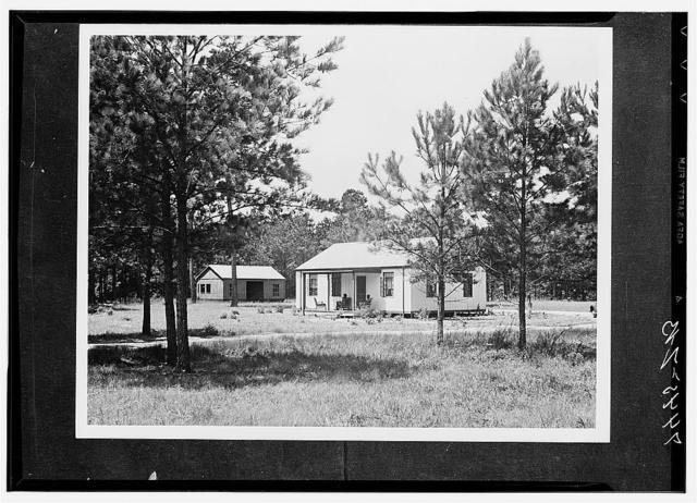 Farm Security Administration steel house in Coffee County, Alabama