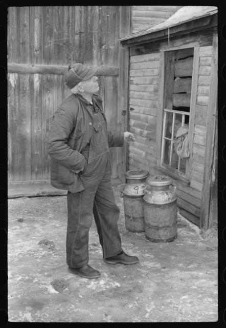 Farmer, Lisbon, near Franconia, New Hampshire