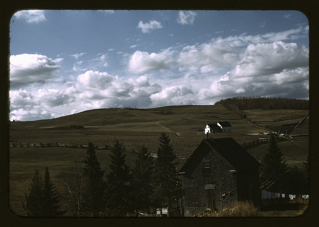 Farms in the vicinity of Caribou, Aroostook County, Me.