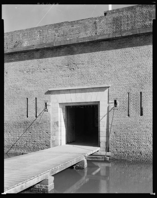 Fort Pulaski, Savannah, Chatham County, Georgia