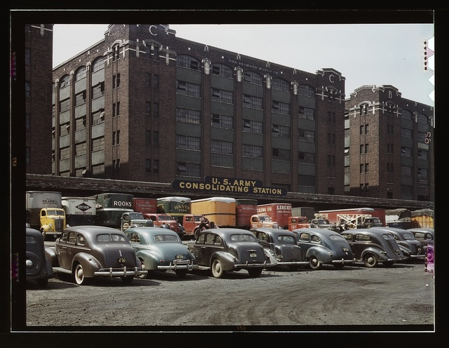 Freight Depot of the U.S. Army consolidating station, Chicago, Ill.