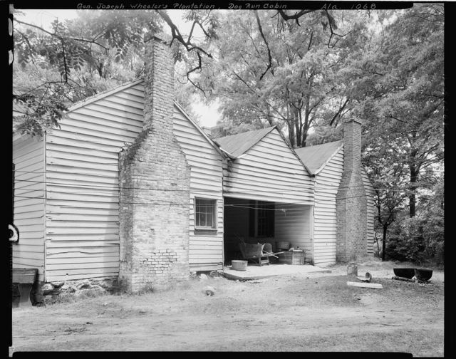 Gen. Joe Wheeler Houses and Cabin, Wheeler Station, Lawrence County, Alabama