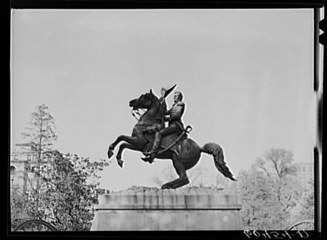 General Jackson in Lafayette Square, Washington, D.C.