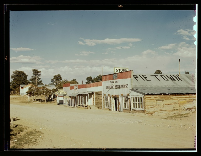 General Merchandise store, Main Street, Pie Town, New Mexico