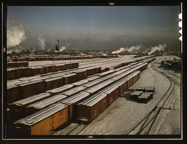 General view of a classification yard at C & NW RR's Proviso yard, Chicago, Ill.