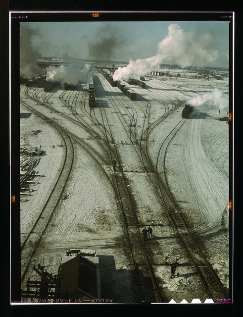General view of one of the classification yards of the C & NW RR., Chicago, Ill.
