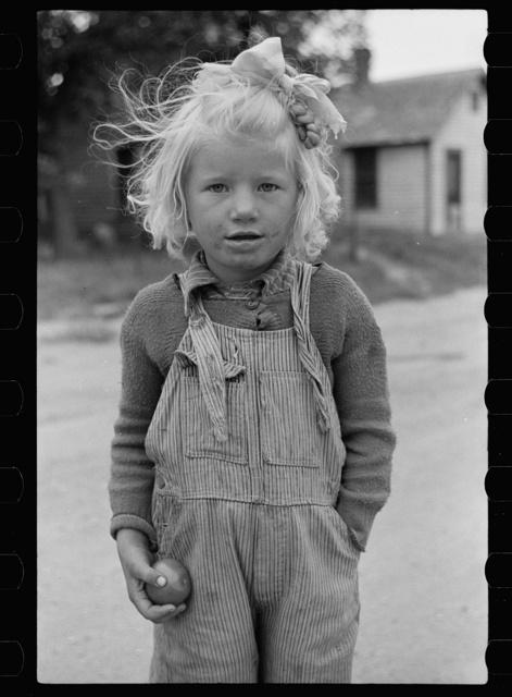 Girl, resident of Sisseton, South Dakota
