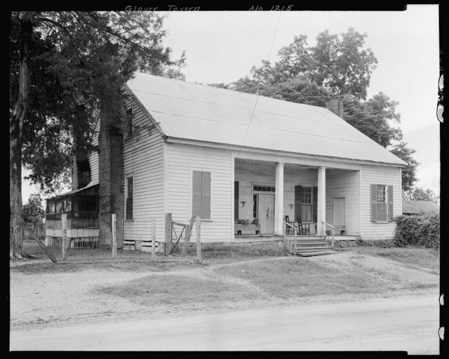 Glover Tavern, Forkland, Greene County, Alabama
