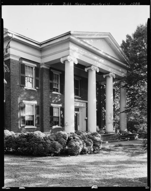 Gov. Thomas Bib House, 303 Williams St., Huntsville, Madison County, Alabama