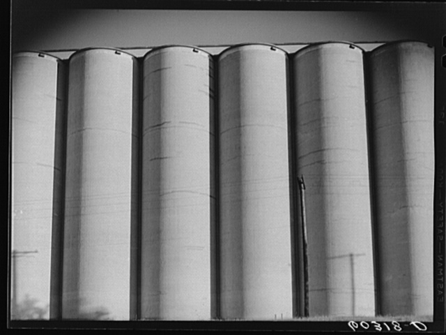 Grain elevator. Minneapolis, Minnesota
