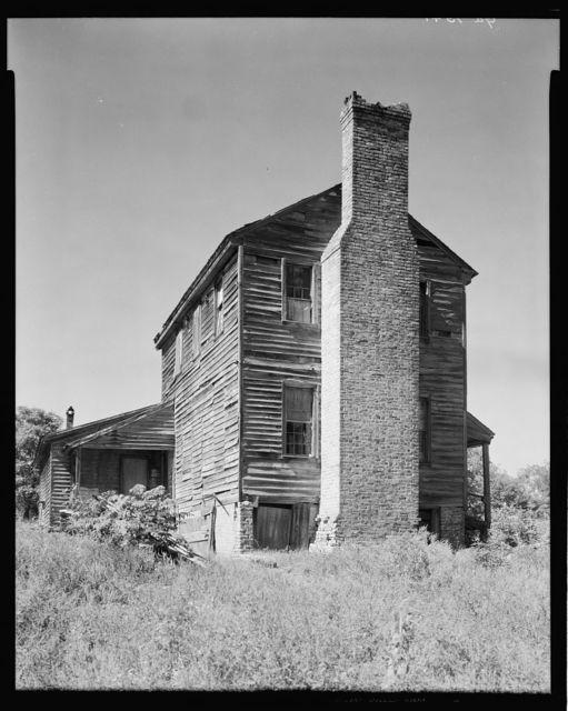 Great Chimney House, Lexington, Oglethorpe County, Georgia
