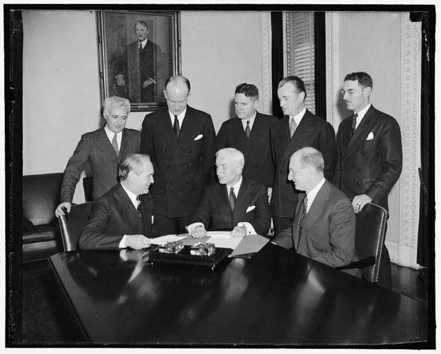 [Group: includes Cordell Hull and Sumner Welles]