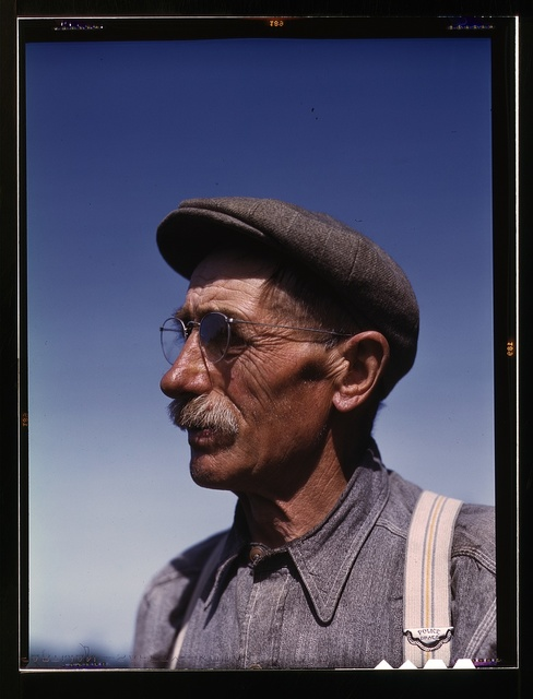 Gus Worke, a farmer who came from Germany 40 years ago, Southington, Conn.