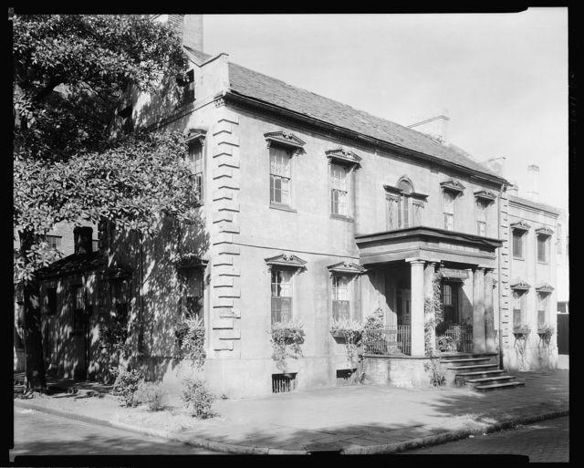 Habersham house, 25 Abercorn Street, Savannah, Chatham County, Georgia