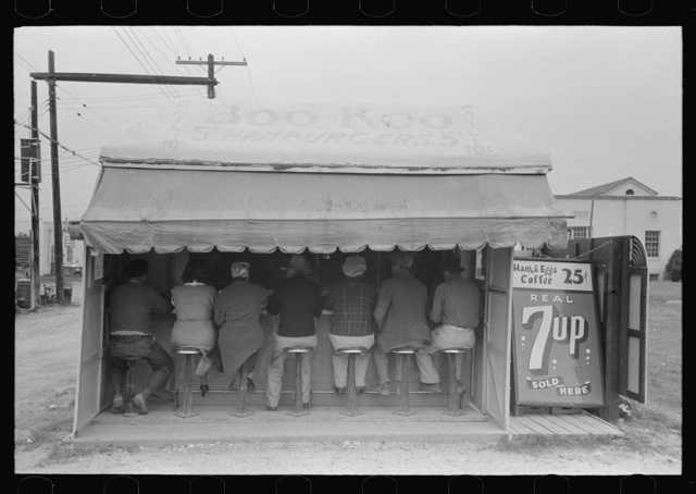 Hamburger stand, Harlingen, Texas